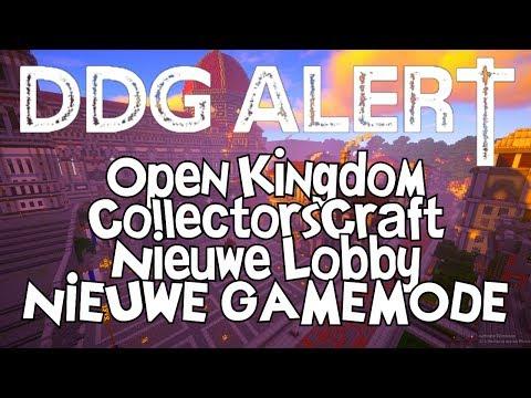 DDG Alert! - Open Kingdom, Nieuwe Lobby & Nieuwe GAMEMODE!!