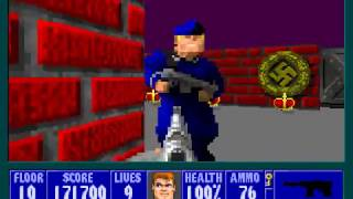 Wolfenstein 3D (PC/DOS) 1992, id Software, Apogee