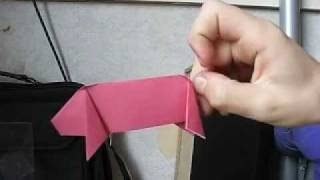 How To Make - Easy Origami Pig