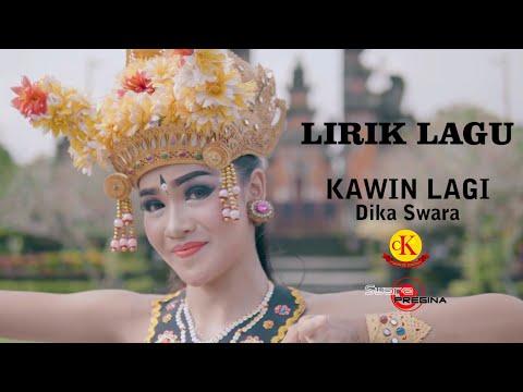 LIRIK - KAWIN LAGI - Dika Swara