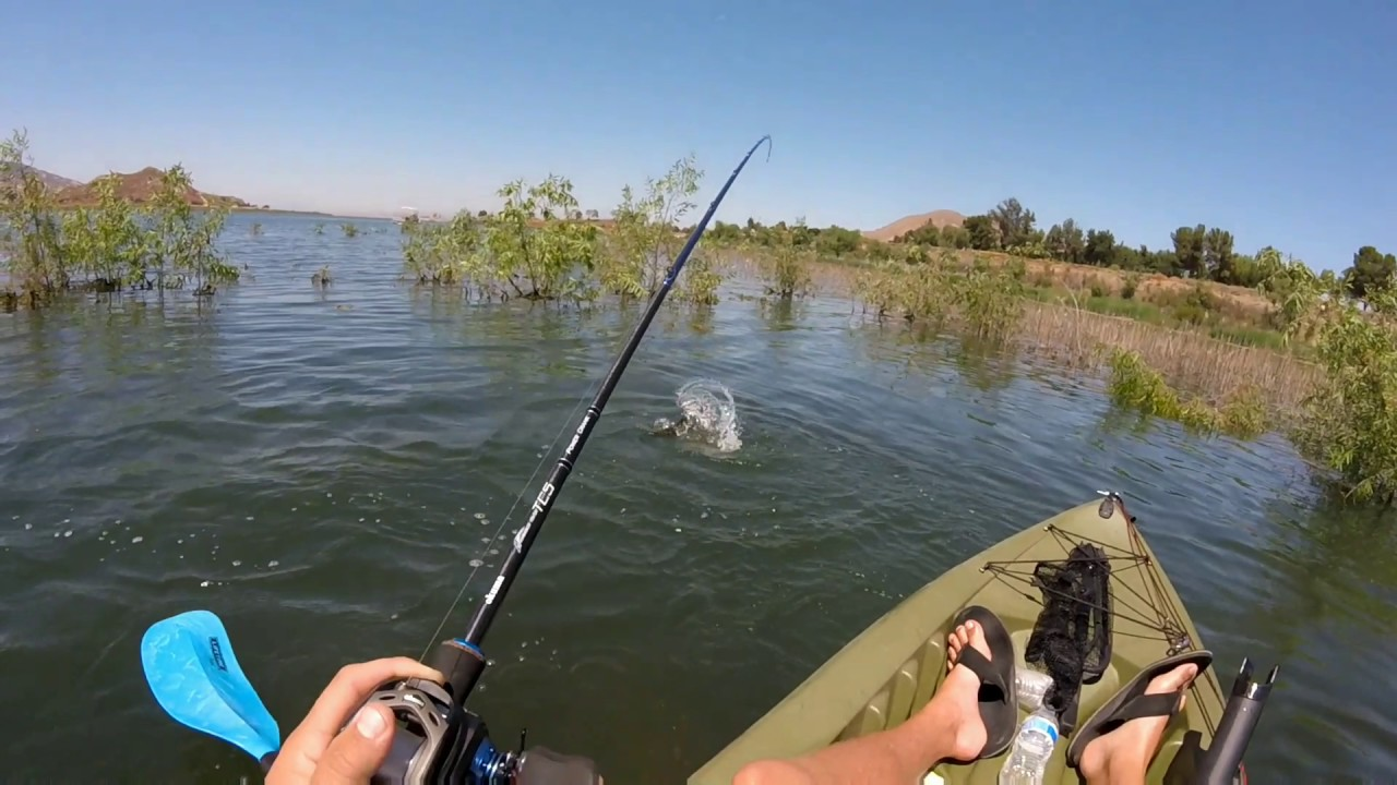 lake perris fishing report