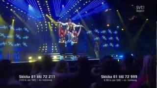 Sean Banan - Sean Den Förste Banan - Melodifestivalen 2012 - HD