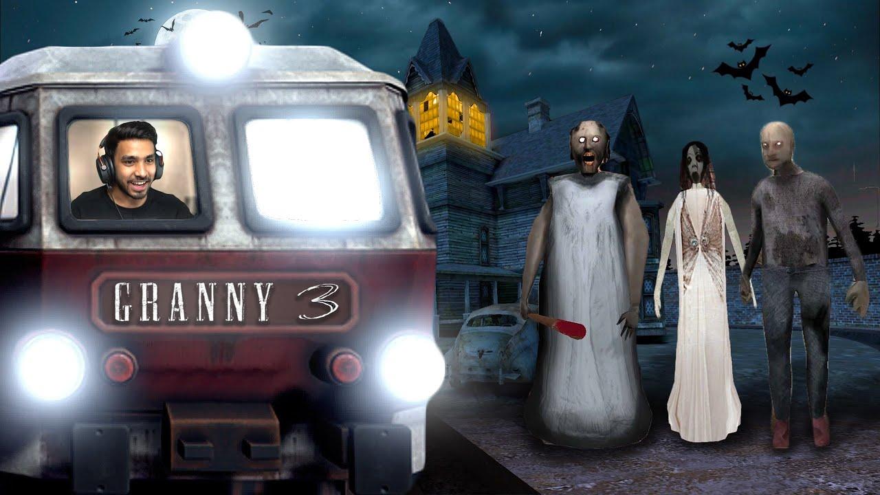 TRAIN ESCAPE FROM GRANNY'S HOUSE