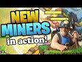 TESTING THE NEW MINERS! - TH12 Queen Walk Miner Farming - Clash of Clans - Let's Play TH12 Ep.2