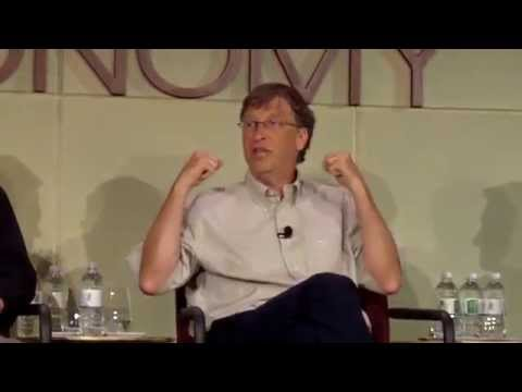 Bill Gates on In Person Education vs Online Education