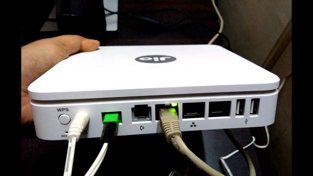 Jio Giga Fiber Router | Preview Offer | Speed Test