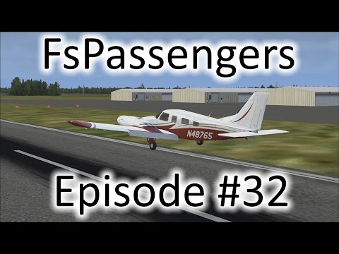 FSX | FsPassengers - Ep. #32 - Final Approach Problem at Airlake | PA-34 Seneca V