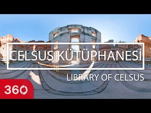 Celsus Kütüphanesi / Library Of Celsus | 360video