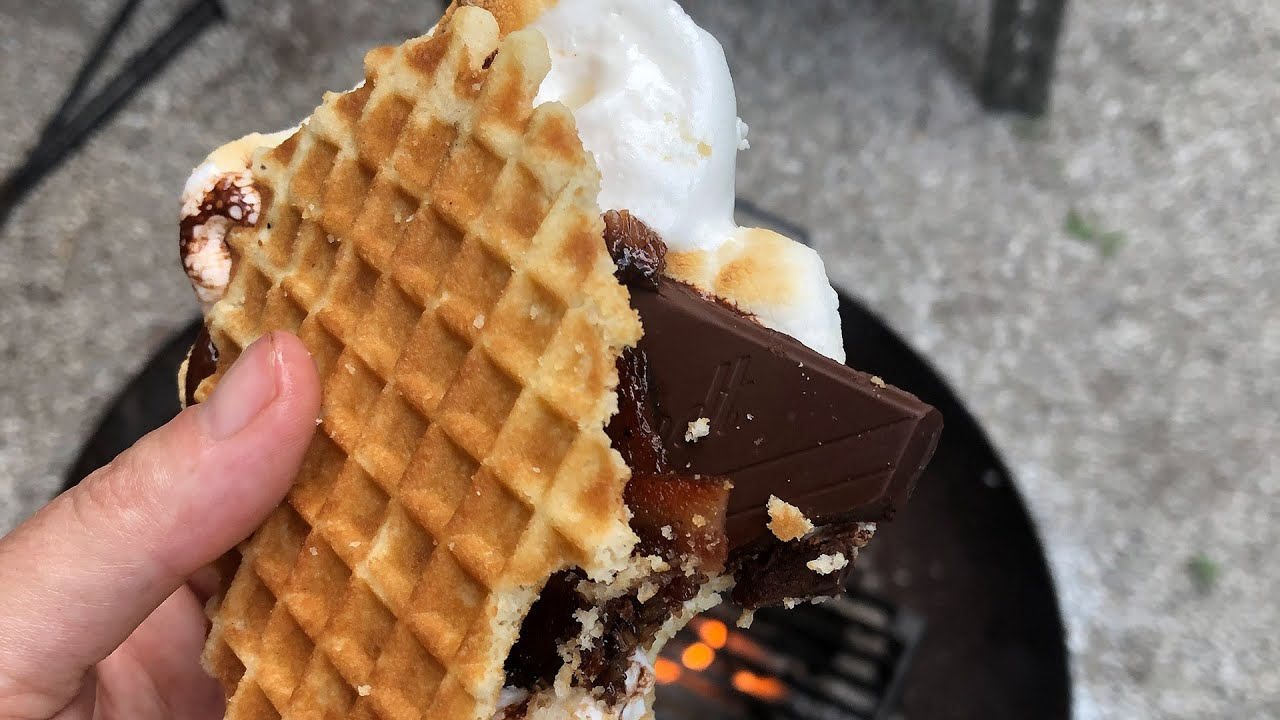 Feast Magazine's Campfire Cooking: S'mores sponsored by Beachcomber Camping Resort