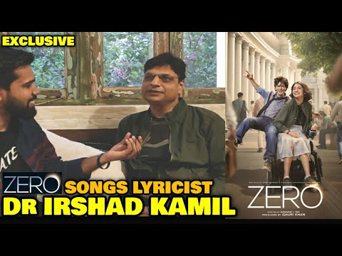 ZERO Songs Lyricist Dr Irshad Kamil In Conversation With FilmiFever | SRK | Kali Aurat Ka Khwaab