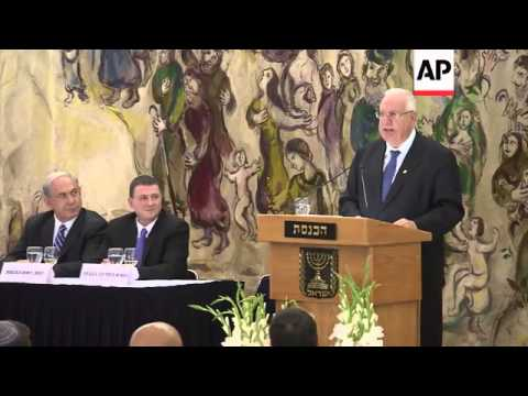 Mixed reaction as lawmakers elect Reuven Rivlin the new Israeli president