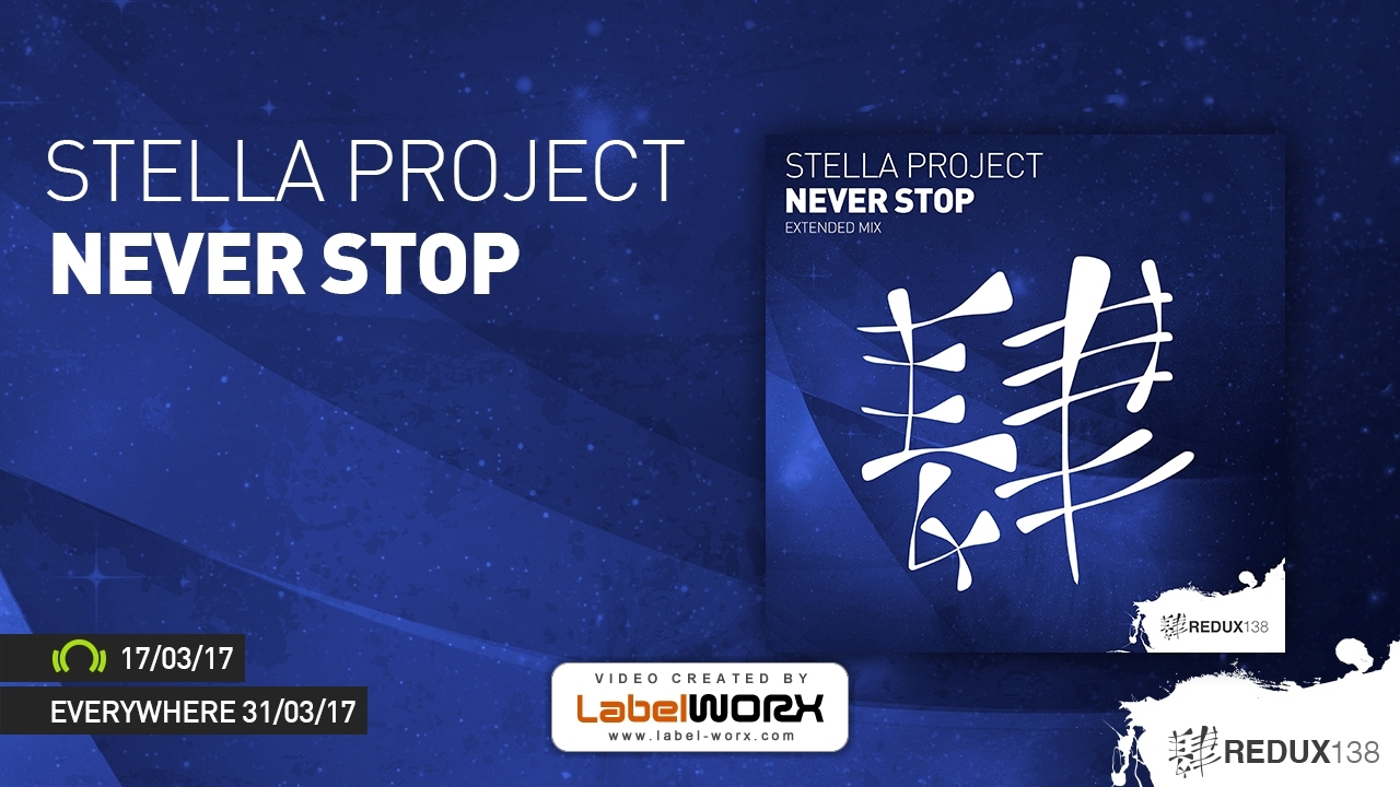 Stella Project - Never Stop  OUT NOW  - YouTube be1ded2b6b3
