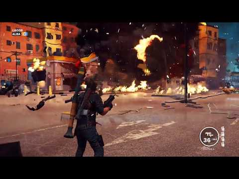 Delayed reaction - Just Cause 3