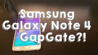 Samsung Galaxy Note 4 Gap Test - Does it Fit?! #GapGate