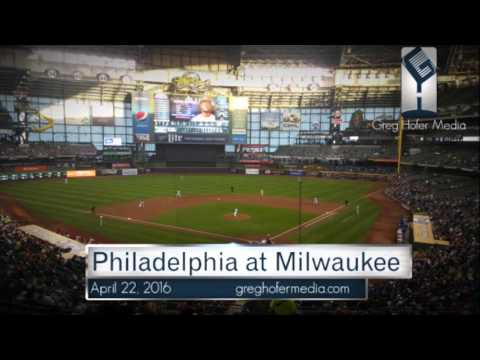 Greg Hofer Play by Play Brewers Phillies 4/22/16