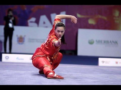 Stephanie Lim Wushu Reel 2014