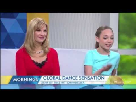 12/03/15 - Maddie Ziegler on the Morning Show - Channel 9 - Sydney