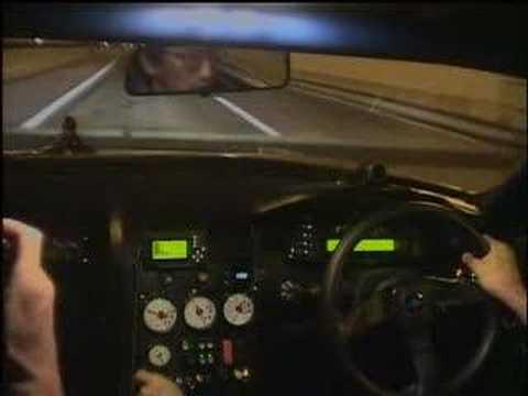 Top Secret Skyline: 200Mph through Tokyo tunnel