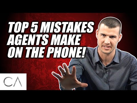 The Top FIVE Mistakes That New Insurance Agents Are Making On The Phone!