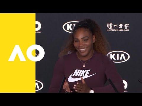 Serena Williams press conference 3R  Australian Open 2019