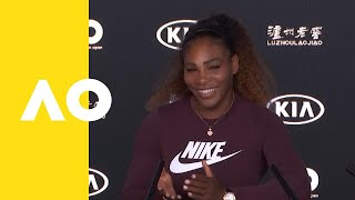 Serena Williams press conference (3R) | Australian Open 2019