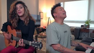 Gambar cover Ed Sheeran feat. YEBBA - Best Part Of Me (Cover by Samica & AJ Rafael)