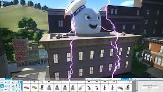 플래닛 코스터 고스트버스터즈 02 Planet Coaster Ghostbusters 한글자막판