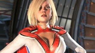 Injustice 2 - ALL NEW POWERGIRL INTRO DIALOGUES (So far)