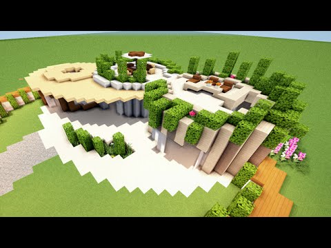 Minecraft tuto comment faire une maison moderne tres originale youtube - Comment faire une maison moderne minecraft ...