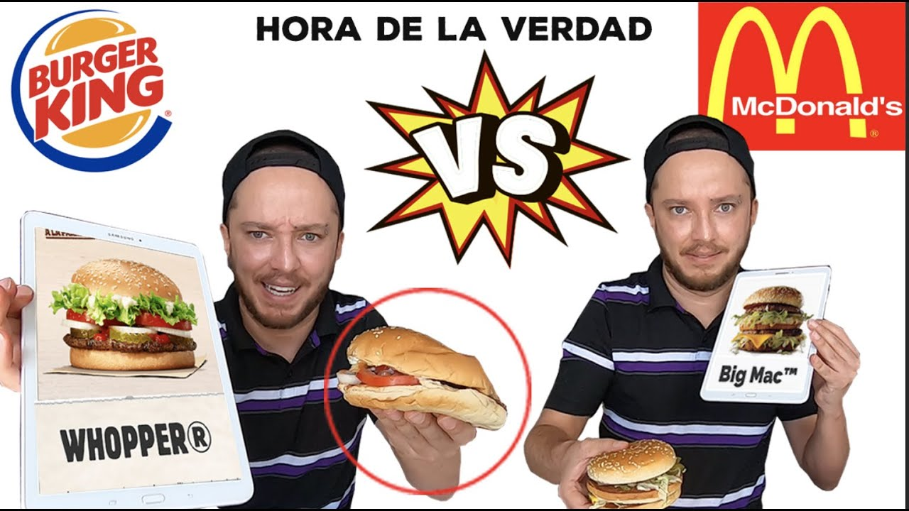 Mcdonald's VS Burger King / La VERDAD revelada 😯