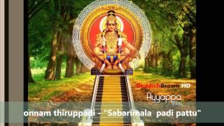 onnam thiruppadi saranam pon ayyappa by yesudas