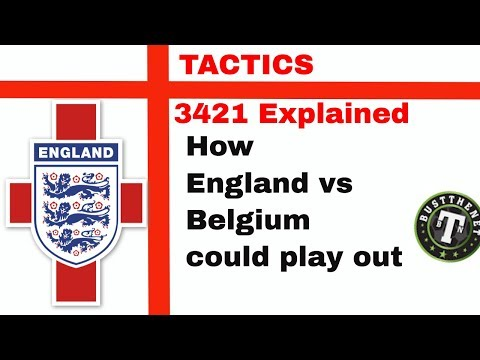 2018 WORLD CUP - 3421 Tactic England Football Manager Experiment