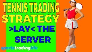Profitable  Tennis Trading Strategy Revealed! - Lay The Server