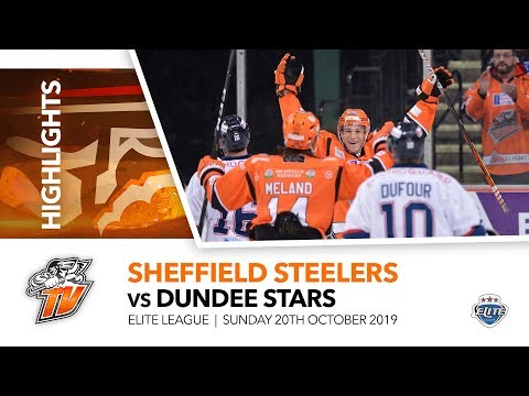 Sheffield Steelers v Dundee Stars - EIHL - 20th October 2019