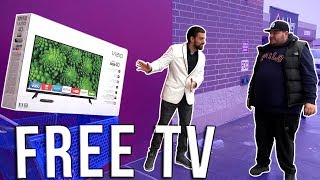 FREE TV (Social Experiment) GIVEAWAY!