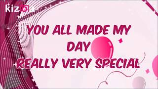 THANKYOU for Birthday wishes whatsapp status video,2018,message,sms,sayings,ecard
