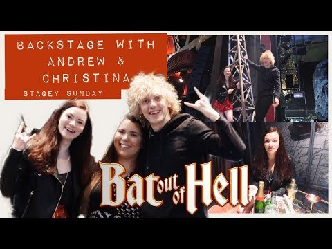 Backstage at Bat with Raven and Strat | Bat Out of Hell Stagey Sunday