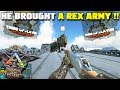 HE BROUGHT A REX ARMY TO A GUN FIGHT   ARK : SURVIVAL OF THE FITTEST [SOTF GAMEPLAY]