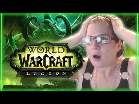 MOM REACTS TO LEGION (World of Warcraft Cinematic)