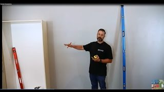 Garage Storage Cabinet Installation To A Wall How To Video
