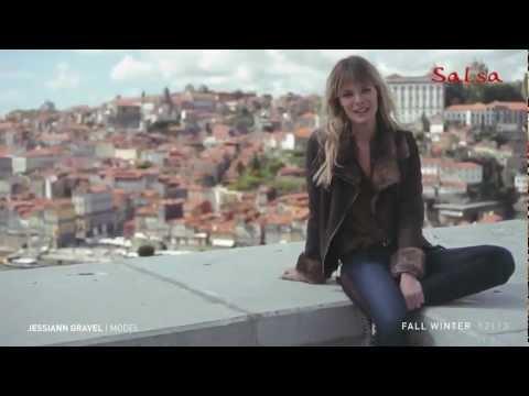 Jessiann Gravel for Salsa Making of  FW 2012/13