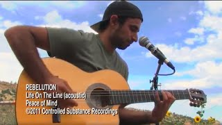 REBELUTION's Eric Rachmany - Life On The Line - acoustic MoBoogie Session