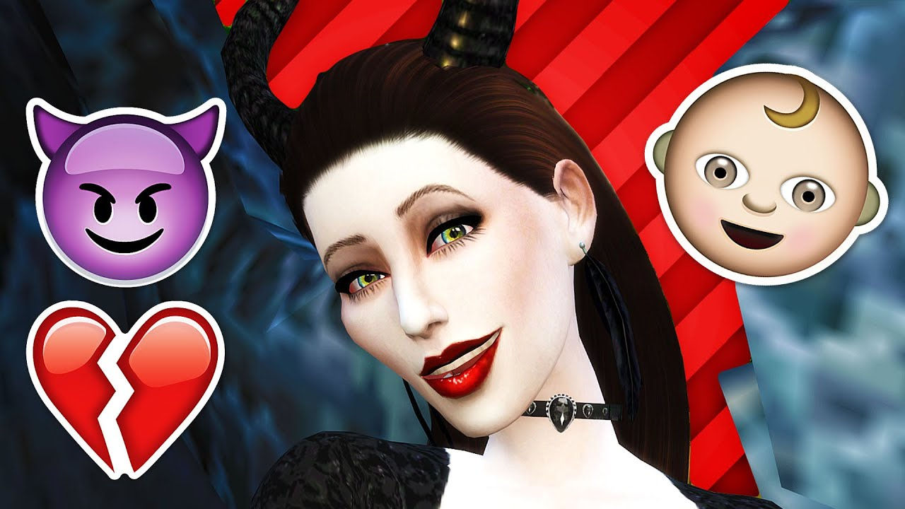 MALEFICENT GETS MARRIED & 3 BFs?! // The Sims 4: Maleficent (S2 - Part 5) -  YouTube