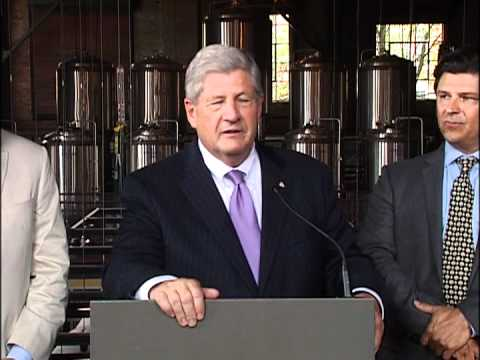 NYS Brewers Association Press Conference @ Albany Pump Station 5-30-12