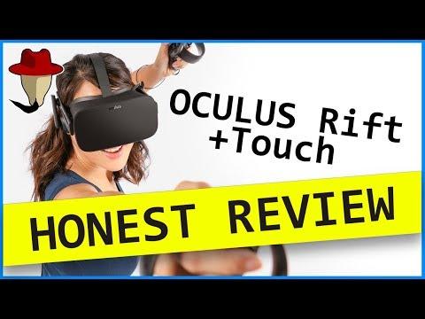 OCULUS RIFT + TOUCH CV1 | honest review
