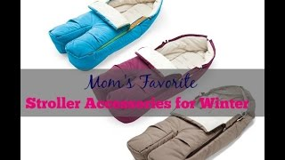 Stroller Accessories for Winter: Favorite Liners and Foot Muffs Thumbnail