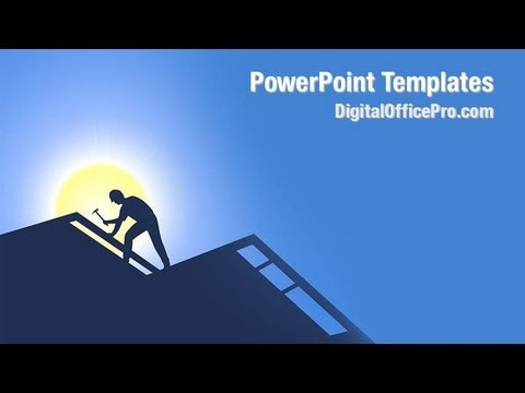 Roofing Powerpoint Template Backgrounds Digitalofficepro