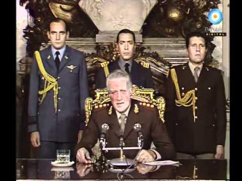 Archivo histórico: Galtieri - Cadena nacional - Respuesta a Gran Bretaña - 01-05-1982 - YouTube