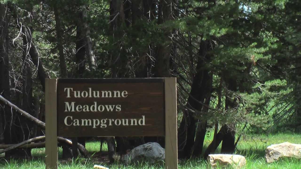 Camping tuolumne meadows