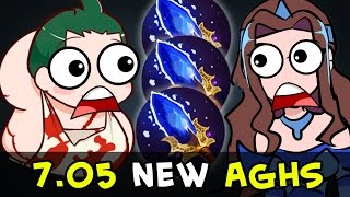 Dota 7.05 new Aghanims — Update April 1, 2017